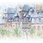 Rennes, place des Lices
